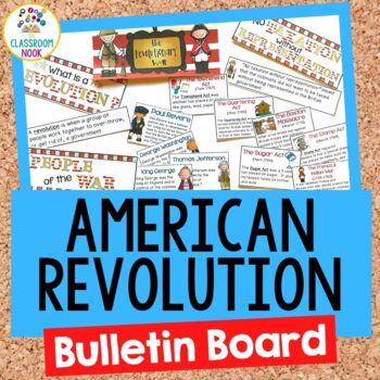 The American Revolution:  Bulletin Board Set