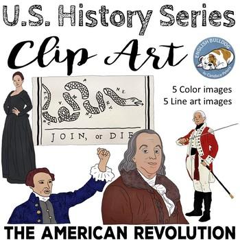 The American Revolutionary War Clip Art Set 2