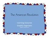 The American Revolution Graphic Organizers