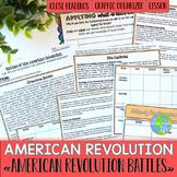 American Revolution Battles of the American Revolution