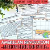American Revolution Battles of the American Revolution