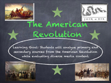 Analyzing Primary and Secondary Sources (American Revolution)