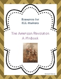 The American Revolution Minibook for ELL Students