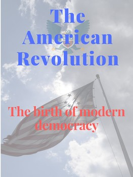 The American Revolution Poster