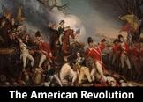 The American Revolution Power Point, Worksheet, Printable