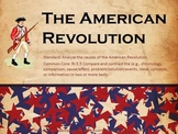 The American Revolution - Powerpoint, Vocab, and Included Activities!