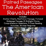 The American Revolution Reading Comprehension Paired Passages