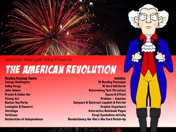 The American Revolution: Reading Passages and Activities