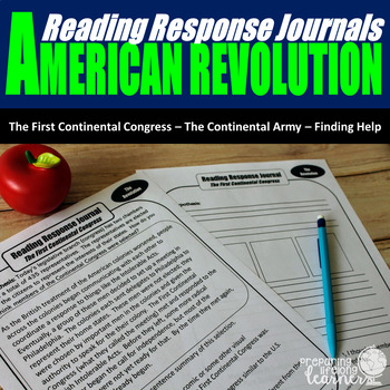 The American Revolution Reading Responses