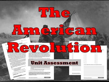 The American Revolution Reading Test
