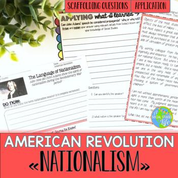 American Revolution: Nationalism