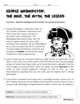The American Revolution Interactive Notebook Activities with Test Prep Passage