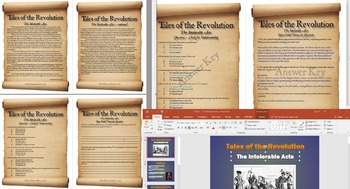 The American Revolution - The Intolerable Acts Complete Lesson