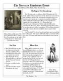 The American Revolution Times: Battle Research Project