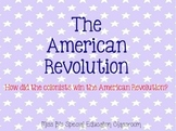 The American Revolution Unit Bundle