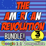 American Revolution Unit Bundle! 3 fun resources to teach the Revolution!