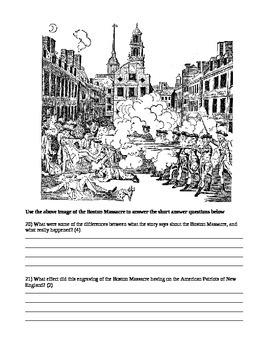 The American Revolution - Unit Test
