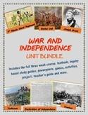 The American Revolution unit bundle, including text