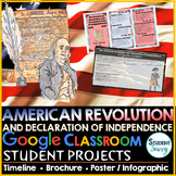 The American Revolution and Declaration of Independence Di
