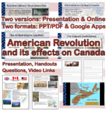 The American Revolution and its effects on Canada