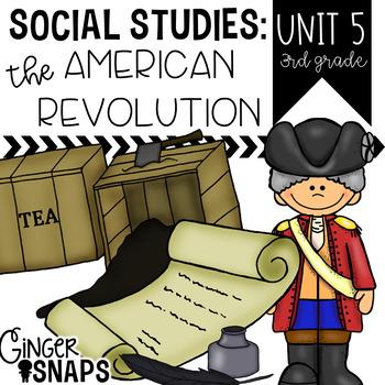 The American Revolution in South Carolina {Unit 5}