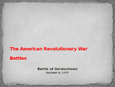 American Revolutionary War - Battle of Germantown - 1777