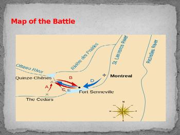 American Revolutionary War - Battle of The Cedars - 1775