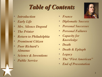 American Revolutionary War - Key Figures - Benjamin Franklin