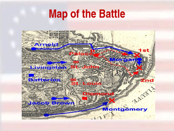 American Revolutionary War - Quebec Campaign - 1775 & 1776