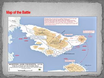 American Revolutionary War - Battle of Bunker Hill - 1775