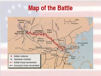 American Revolutionary War - Lexington Campaign - 1775