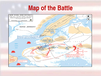 American Revolutionary War - Long Island Campaign - 1776