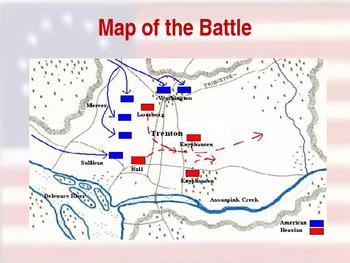 American Revolutionary War - Trenton Campaign - 1776