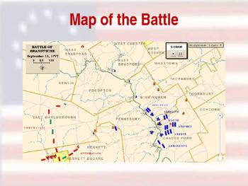 American Revolutionary War - Brandywine Campaign - 1777