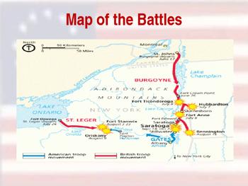 American Revolutionary War - Saratoga Campaign - 1777