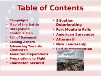 American Revolutionary War - Siege of Charleston - 1780