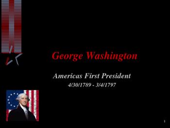 American Revolutionary War - George Washington - President