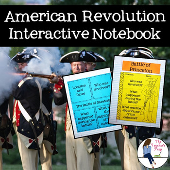 The American Revolutionary War Interactive Notebook