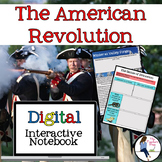 The American Revolutionary War Interactive Notebook for Go