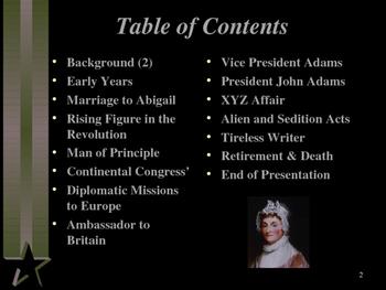 American Revolutionary War - Key Figures - John Adams