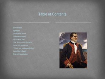 American Revolutionary War - Key Figures - John Paul Jones