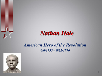 American Revolutionary War - Key Figures - Nathan Hale