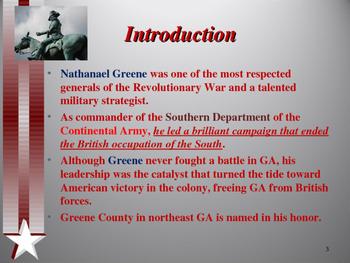 American Revolutionary War - Key Figures - Nathanael Greene