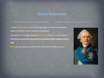 American Revolutionary War - The French Alliance