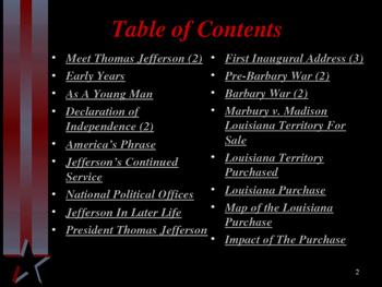 American Revolutionary War - Key Figures - Thomas Jefferson