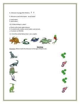Dinosaurs, Final Exam