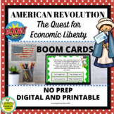 BOOM CARDS The American Revolution and Economics