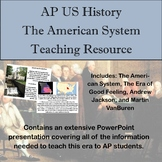 The American System Teaching Resource for AP American History