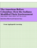 The Americas Before Columbus: How the Indians Modified The