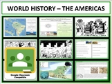 The Americas - Complete Unit - Google Classroom Compatible